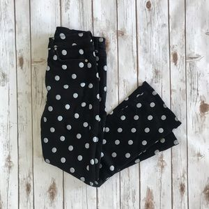 7 For All Mankind Polka Dot Jeans